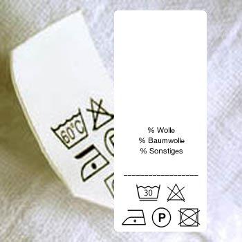 48 pflegeetiketten drucken pflegekennzeichnung von. Black Bedroom Furniture Sets. Home Design Ideas